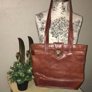 Oroton Leather Hobo Handbag